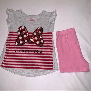 Disney Junior Minnie Mouse Toddler Outfit 4T